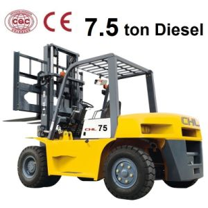7.5 Ton Diesel Heli Forklift Price for Mitsubishi S6s-T Engine (CPCD75) pictures & photos
