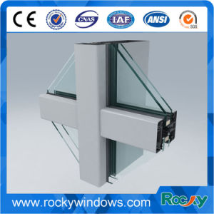 Rocky Sophisticated Technology Aluminium Extrusion Profile for Decoration Curtain Wall pictures & photos