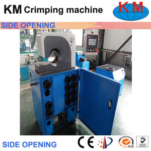 Side Open Hydraulic Hose Crimping Machine Crimping Non-Standard Hydraulic Hose pictures & photos