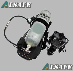 Alsafe 4500psi, 60min Life-Support Scba Breath Apparatus pictures & photos