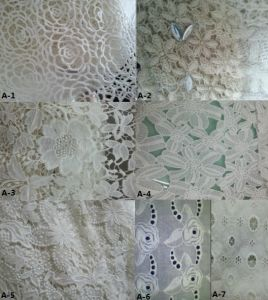 100%Cotton Woven Embroidery Fabric (EMB#A) pictures & photos