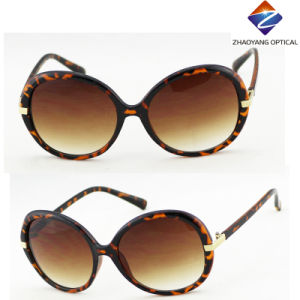 2016 New Fashion Stylish PC Sunglasses with Metal Accessories pictures & photos