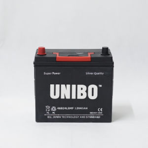 Mf Auto Battery 46b24ls Mf 12V45ah High Performance JIS Car Battery pictures & photos