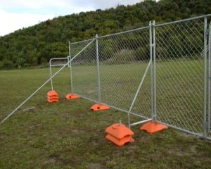 Hot Dipped Galvanized Removable Portable Temporary Fence pictures & photos