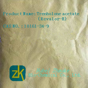 Trenbolone Acetate Steroid for Muscle Building Yellow Powder pictures & photos