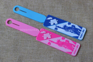 Custom 3D Soft Silicone Luggage Name Tag/ Rubber Bag Label Tag pictures & photos