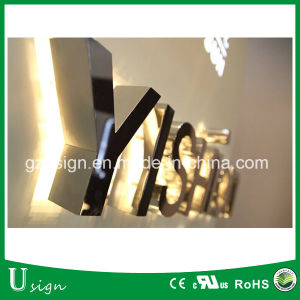 China Wholesale Market LED Channel Letter, DIY LED Backlit Channel Letter Sign pictures & photos