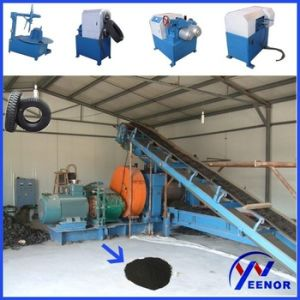 Fine Quality Continuous Waste Tire Recycling Machine for Rubber Powder pictures & photos