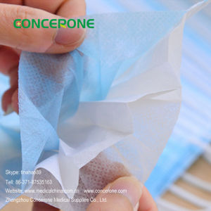 Hospital Nonwoven Surgical Face Mask Manufacturer China pictures & photos
