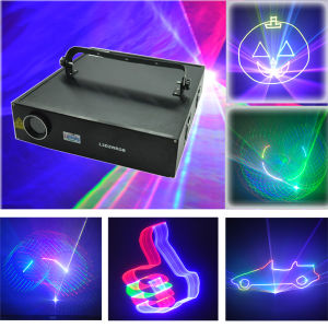 2W RGB Multi Color 3D Animation DJ Disco Light pictures & photos