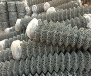 2inch Hole PVC Coated Chain Link Mesh pictures & photos