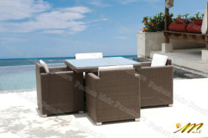 Outdoor Dining Set / Paito Dining Set / Wicker Dining Set (M8C105)