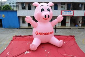 2017 New Most Popular Inflatable American Pig for Advertising pictures & photos
