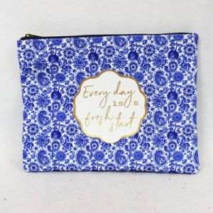 Lady′s Fashion Canvas Cosmetic Bag pictures & photos