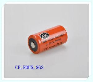 Electronic-Cigarette Battery, Lithium 18350-900mAh, High Cap, Rechargeable, High Cap, Li Ion Battery