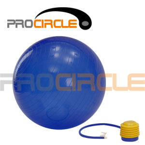 Anti Burst Exercise Stability Ball Balance Ball Set with Pump (PC-YB4003) pictures & photos