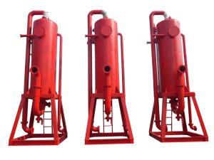 Well Drilling and Mud Cleaning Mud Gas separator