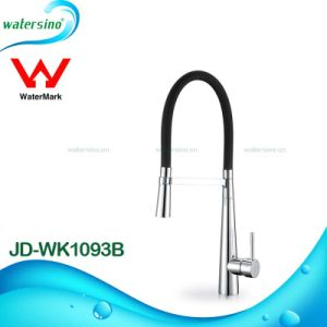 Watermark Stainless Steel 304 Brushed Kitchen Sink Faucet Mixer pictures & photos