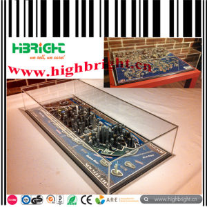 High Quality Transparent Acrylic Puzzle Display Box pictures & photos