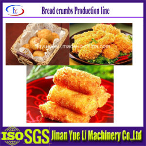 Fully Automatic Bread Crumbs Extrusion Food Machine