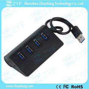 Top Grade Aluminum Design 4 Port USB Hub 3.0 (ZYF4102)