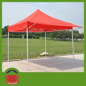 Folding Event Red Gazebo Pop up Tent for Sale pictures & photos