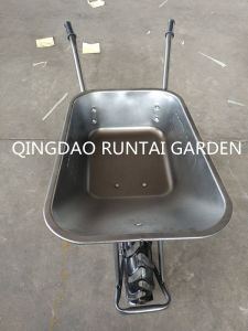 Qingdao Made Pop Style Durable Strong Cheap Wheelbarrow (WB5009) pictures & photos