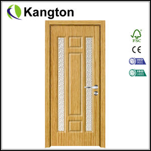 2015 Interior PVC Coated MDF Wooden Doors (MDF door) pictures & photos