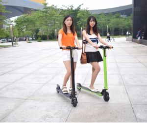Shenzhen Best Price Two Wheel Folding Electrical Scooter pictures & photos