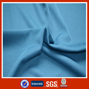 Dyed Polyester Rib Fabric for Collars pictures & photos