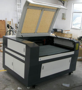 China CNC Laser Wood Marble Glass Engraving Machine Flc1290 pictures & photos