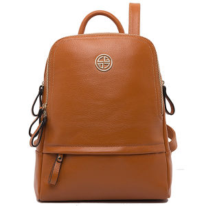 China 100% Genuine Leather Women Backpack Bag (CG9016) - China Bag ...