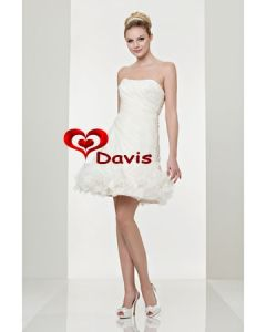 a-Line Short Wedding Dress (WD-3040)