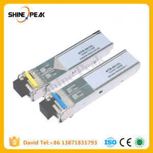 10g Bidi 1490/1550 80km SFP Compatible Cisco Fiber Optic Modules pictures & photos