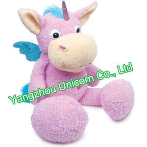CE PP Cotton Soft Stuffed Animal Unicorn Plush Toy pictures & photos