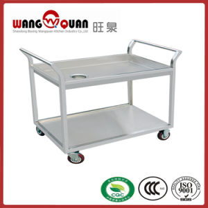 stainless Steel Dish Collection Trolley for Restaurant pictures & photos