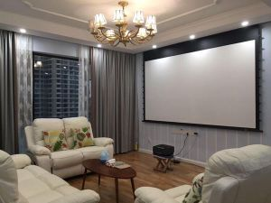 Projection Screen Home Cinema Projector Screen Home Theater Projector Screen pictures & photos