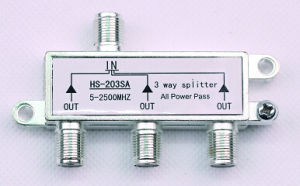 3way 5-2500MHz Smatv Splitter (SHJ-HS203SA) pictures & photos