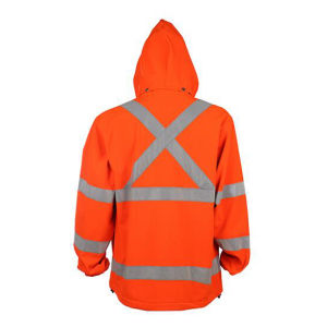 Winter Strip Yellow Reflective Safety Work Jacket pictures & photos