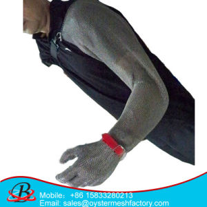 Protection Stainless Steel Wire Mesh Glove pictures & photos