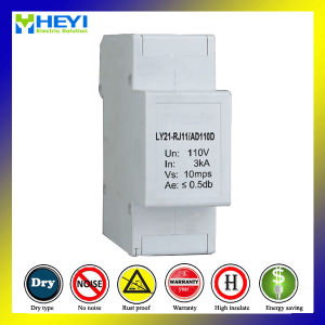 Ly21-Rj11 Series Signal Surge Protective Device (SPD) 220V Surge Protector pictures & photos