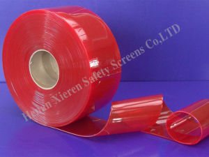 PVC Strip Curtains Solid Red pictures & photos