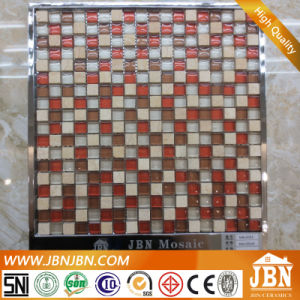 Cream Marfil, Cold Spray and Convex Surface Glass Mosaic (M815052) pictures & photos