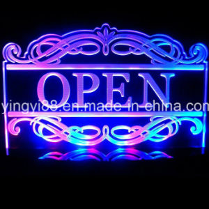 Best Seller Acrylic LED Sign Shenzhen Factory pictures & photos