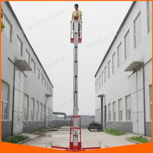 Single Mast Aluminum Lift Working Platform pictures & photos