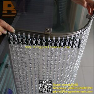 Aluminium Decorative Fly Insect Divider Window Door Chain Curtain Screen pictures & photos