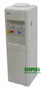 Compressor Cooling Hot & Cold Water Dispenser with 16L Fridge pictures & photos