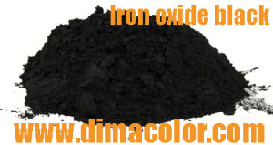 Economic Grade Iron Oxide Black 318 for Construction Material 600USD/Mt pictures & photos