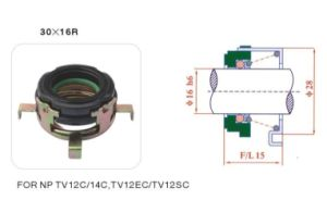 Auto Shaft Seal for Np TV12 Compressor pictures & photos
