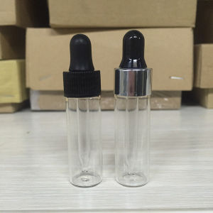 1 DRAM 4ml Tubular Glass Vial with Glass Dropper pictures & photos